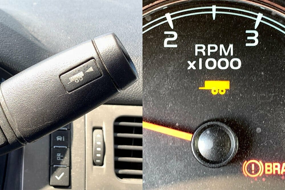 Tow/Haul Button and Light