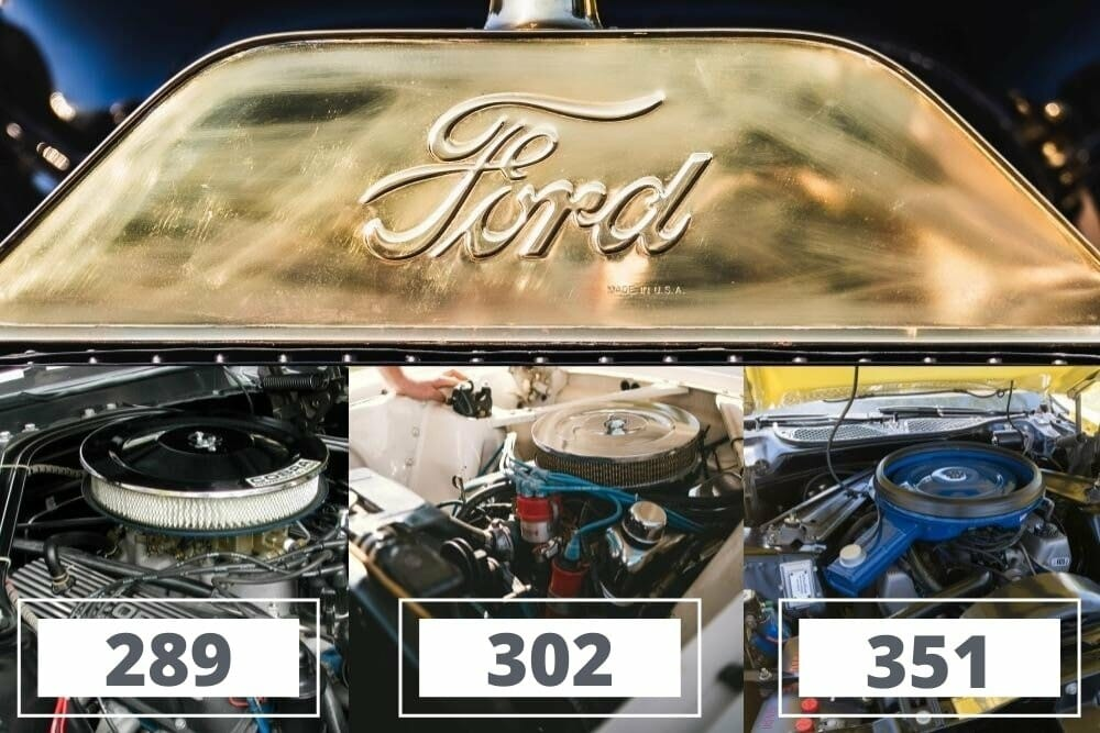 Ford 289 vs 302 and 351 Engine - What's the Difference?