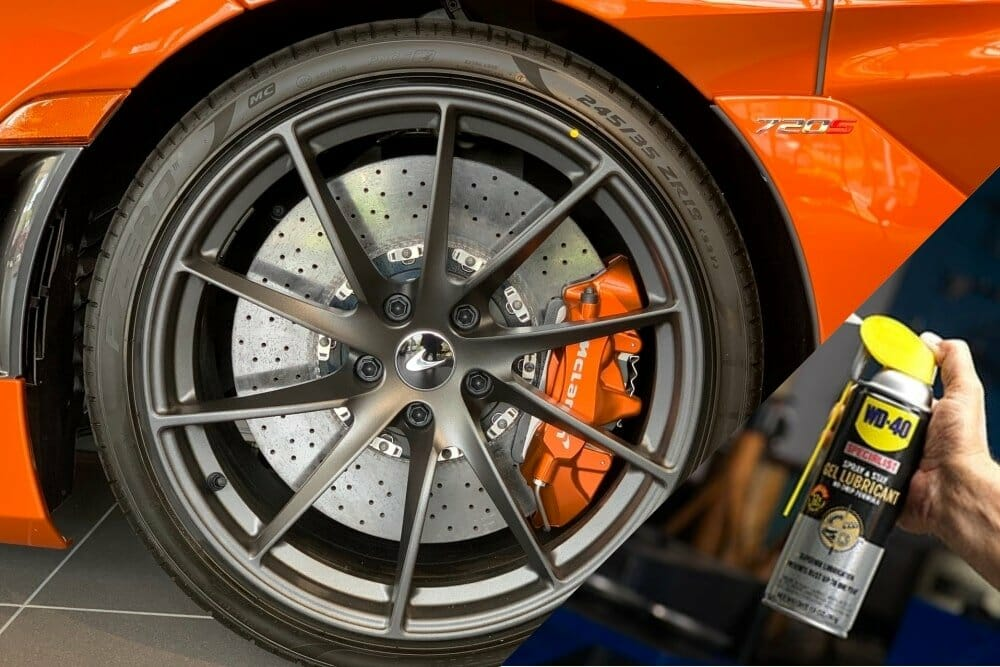 Can I Put WD40 On My Brakes?